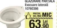 Vas wc glazurare partiala evacuare laterala