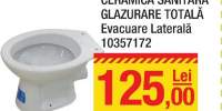 Vas wc glazurare totala evacuare laterala