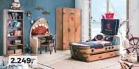 Mobila camera copii Black Pirate