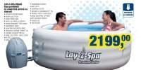 Lay-Z-Spa Vegas spa gonflabila cu copertina prinsa cu clipsuri
