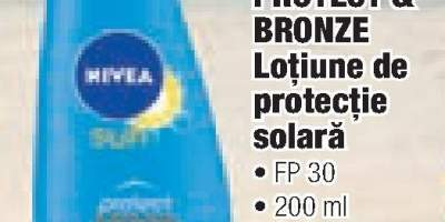 Nivea Protect& Brozne lotiune de protectie solara