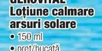 Geovital lotiune calmare arsuri solare