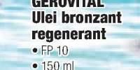 Gerovital ulei bronzant regenerant