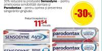 Sensodyne si Parodontax pasta de dinti