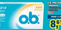O.B. Pro Comfort tampoane
