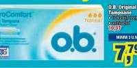 O.B. Original tampoane