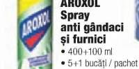 Aroxol spray anti gandaci si furnici