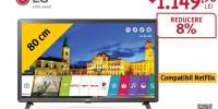 Televizor LED LG FHD SMART 32LK6100PLB