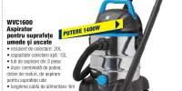 WVC1600 aspirator pentru suprafete umede si uscate