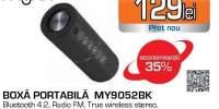Boxa portabila Myria MY9052BK