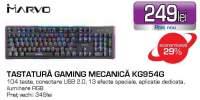 Tastatura gaming mecanica KG954G