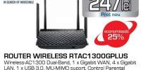 Router wireless ASUS RT-AC1300G PLUS