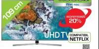 Televizor LED Smart HDR Samsung UE43NU7472UX