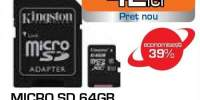 Card de memorie SD 64 GB Kingston
