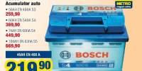 Bosch acumulator auto