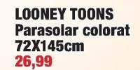 Looney Toons parasolar colorat 72x145 centimetri