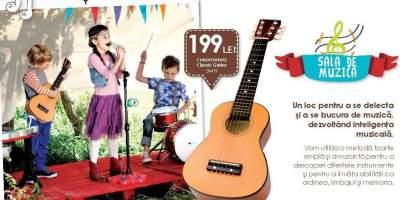 Conservatory Classic Guitar, Chitara spaniola invatare cu ajutorul culorilor