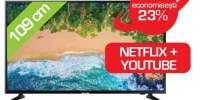 Televizor LED Smart Ultra HD,Tizen, 4K HDR, 108 cm, SAMSUNG UE43NU7092UXXH