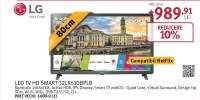 Televizor LED Smart LG 32LK610BPLB, High Definition, WebOS , 80cm