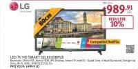 Televizor LED Smart LG 32LK610BPLB, High Definition, WebOS , 80cm