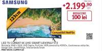 Televizor Curbat LED Smart Ultra HD, Tizen, 4K HDR, 123cm, SAMSUNG UE49NU7372