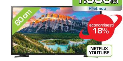 Televizor LED Full HD, 81 cm, SAMSUNG UE32N5002