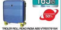 Troler ROLL ROAD India 55791.64, 55cm, albastru