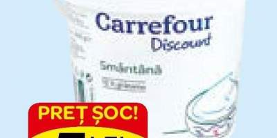 Smantana Carrefour Discount