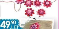 Nicoleta Flowery Jewellery Kit bijuterii panza