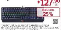 Tastatura gaming mecanica MYRIA MG7519, negru