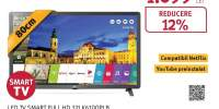 Televizor LED Smart Full HD, 80 cm, LG 32LK6100PLB