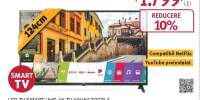 Televizor LED Smart Ultra HD 4K, HDR, 123 cm, LG 49UK6200PLA