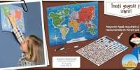 Magneto Mapamundi Harta lumii magnetica