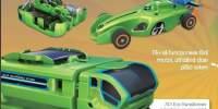 7x1 Eco-transformer Set vehicule energie solara
