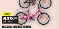 BIcicleta pentru copii Princess/Vortex 18 Scrocco