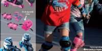 Rolling Set Evolution Pink Patine evolutive pentru copii
