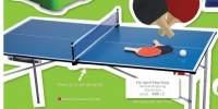 Pre-sport Ping-pong Masa de ping-pong