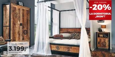 Dormitor Iron