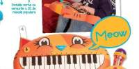 Meowsic Instrument muzical bebelus pian
