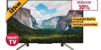 Televizor LED Smart Full HD, HDR, 125 cm, SONY BRAVIA, KDL-50WF665