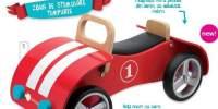 Wooden Walker Beetle Vehicul fara pedale