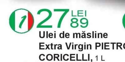 Ulei de masline Extra Virgin Pietro