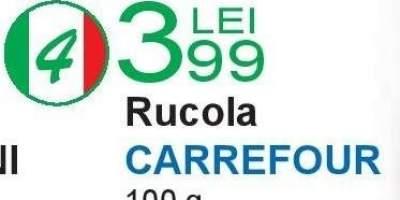 Rucola Carrefour