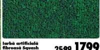 Iarba artificiala fibroasa Squash