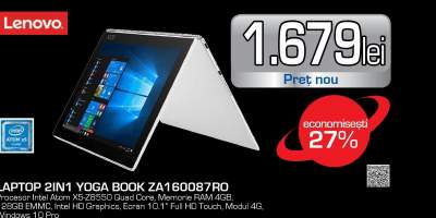 Laptop 2 in 1 LENOVO Yoga Book YB1-X91L