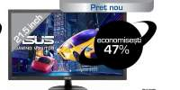 "Monitor LED TN ASUS VP228HE, 21.5"", Full HD, 60Hz, negru"