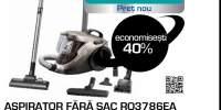 Aspirator fara sac ROWENTA Compact Power Cyclonic RO3786EA, 1.5 l, 750W, gri