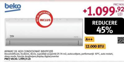Aer conditionat BEKO BRVPF120/121