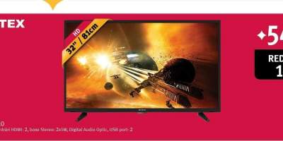 Televizor LED HD, 81 cm, VORTEX V32TD1210