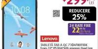 "Tableta LENOVO TAB A TB-7304F, 7"", 8GB, 1GB RAM, Wi-Fi, Black"